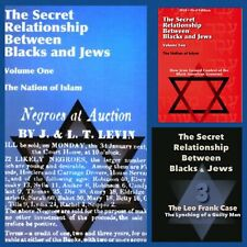 The Secret Relationship Between Blacks and Jews Volume 1 /2 /3  Physical Books!