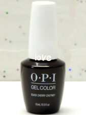 OPI GelColor New Gel Nail Polish Soak-Off I43- Black Cherry Chutney