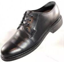 $155 Bates Size 7 Women's Black Shoes Leather DuraShocks Uniform Oxfords 00769C