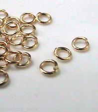 20 anneaux plaqué Or Piercing bijou pour Ongle  4mm Nail Art