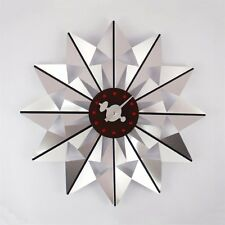 Retro Amazing Nelson Butterfly style Gorgeous Silver Modern Style Wall Clock