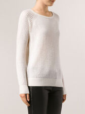 VM081 NWT VINCE RAGLAN SLEEVES WOMEN THERMAL SWEATER SIZE M in W $345