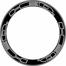 12pcs HED Carbon Wheel Rim Decals Stickers Kit For Bike Cycle Cycling 700C 2RIMS