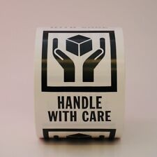 Handle With Care Labels 3 X 4 500 Per Roll Shipping Label