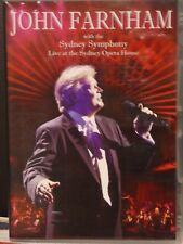 John Farnham With The Sydney Symphony - Live Sydney Opera House (DVD) cg4