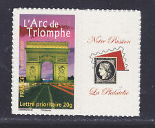 "FRANCE  N° 3599B **, PERSONNALISE ""Passion"" ADHESIF"