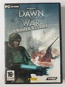 Warhammer 40000 Dawn Of War Winter Assault Expansion Pack CD-ROM Game PC Windows