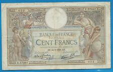 GERTROLEN  Billet 100 FRANCS  Luc Olivier Merson 24-2-1938  E.57987