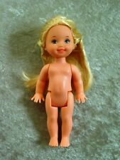 BARBIE KELLY HOLLAND NUDE DOLL  2002 TOYS R US EXCLUSIVE NEW
