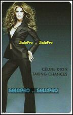 CELINE DION 2007 SONY BMG TAKING CHANCES RARE MUSIC COLLECTIBLE GIFT CARD LOT