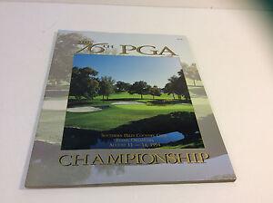 1994 76th PGA Championship Golf Program Nick Price Win Southern Hills