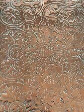 ANTIQUE Arts & Crafts. Copper Tray Rare Design- KESWICK SCHOOL