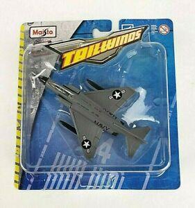 Maisto Tailwinds U S Navy  F-4 Phantom II Fighter Jet Die-Cast Plane