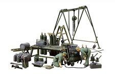 Tamiya 37023 1/35 Scale Model German Army Field Maintenance Team Equip Set F/S