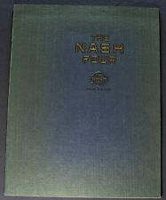 1924 Nash Four 4 Catalog Sales Brochure Excellent Original 24