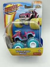 Blaze and the Monster Machines WATER RIDER WATTS Die Cast Toy Vehicle NEW Pink