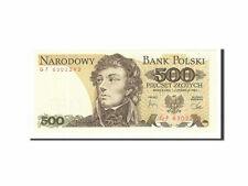 [#161079] Banknot, Polska, 500 Zlotych, 1974-1982, 1982, KM:145d, UNC(65-70)