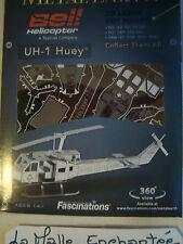 metal earth 3D laser cuts model kit en métal bell hélicopter UH 1 Huey hélico Us