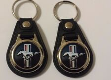 FORD MUSTANG Keychain 2 pack BLK