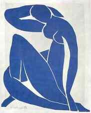 Henri Matisse Standing Blue nude a4 Photo Print