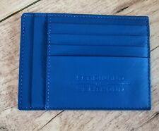 Ferdinand Berthoud - Porte-cartes en cuir bleu - Rare