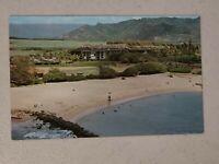 Vintage Postcard - Beach Scene - Kauai Resort Hotel Hawaii Unposted #704