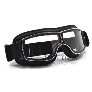 Goggles Aviator Pilot Glasses Driving Riding Biker Motorcycle Cruiser Eyewear