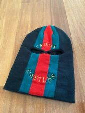Crooks /& Castles Knit CSTC Can/'t Stop The Crooks Scholars Pom Beanie Ski Hat NWT