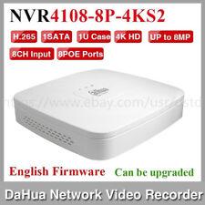 Dahua NVR4108-8P-4KS2 8CH NVR Smart 1U 8PoE 4K&H.265 Lite Network Video Recorder