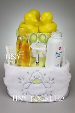 Baby Boy Girl Unisex Two Tier Bath Time Nappy Cake New Born Baby Shower Gift