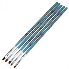 5 PCS Acrylic Nail Art Brush Drawing Paint DIY Pen Tools Set