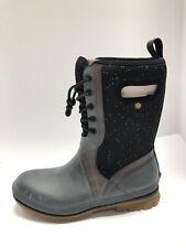 Bogs Crandall Lace Womens Boots Black Size 10 M
