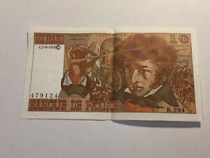 Billet France 10 Francs Berlioz 5-8-1976 (105-15/A029)