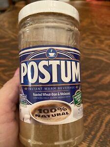 Postum Original Just Add Water and Milk Certified Vegan 8 Oz Jar EXP 05/2023