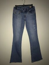 NWT AMERICAN EAGLE OUTFITTERS ARTIST BOOT CUT VINTAGE WASH JEAN SIZE 2
