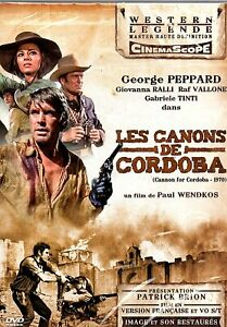 "DVD ""LES CANONS DE CORDOBA"" George Peppard NEUF SOUS BLISTER"