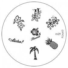 konad Image Plate M29 Disc Stamping Nail Art UK