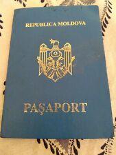 Foreign passport of the Republic of Moldova