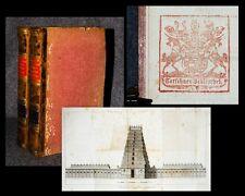 1810 Handel Ökonomie Indien Historisch-geographisch... Zimmerman 2 Bde 1 Tafel