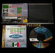 J. LEAGUE VICTORY GOAL Sega Saturn Versione Giapponese NTSC ••••• COMPLETO