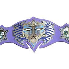 TNA Jeff Hardy Immortal Replica Belt Adult Size, Metal Plates,Leather Strap