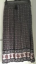 WOMENS MAXI LENGTH SUMMER HOLIDAY SKIRTS STRETCH WAIST SIZE 10 - PLUS SIZE 24