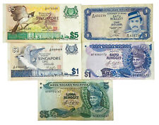 World Mix Currency Lots of 6 Collections Banknotes / Southeast Asia From 1$