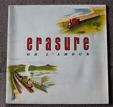 Erasure, oh l'amour / march on down the line, SP - 45 tours