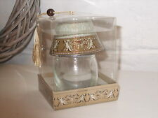Schöner kleiner Teelichthalter Glas, Engel, wie Lampe,  neu