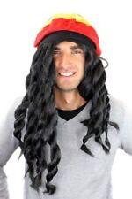 Wig Me Up - Parrucca Carnevale E Berretto Rasta Jamaica Reggae (v8R)