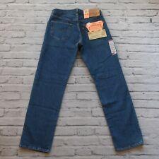 Vintage Deadstock Levis 501 Pre Shrunk Denim Jeans Made in USA Medium Wash
