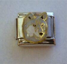 9mm Italian Charm E102 Huskey Huskie Dog Fits Classic Size Bracelet