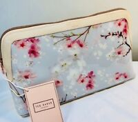 Ted Baker Oriental Blossom Large Wash Bag Light Grey
