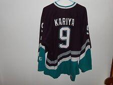 Vintage Paul Kariya Anaheim Mighty Ducks Starter L Large Jersey NHL